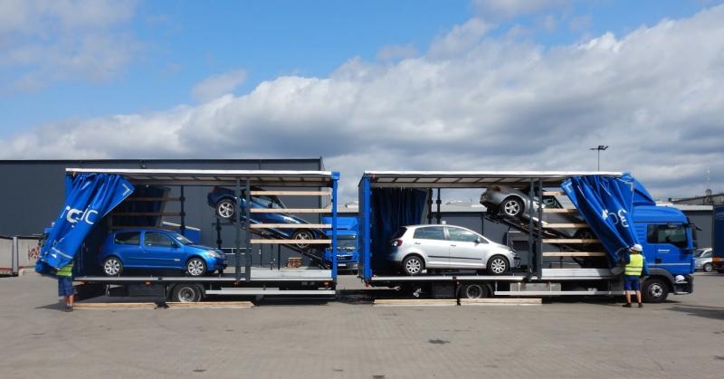 transport samochodów z belgii