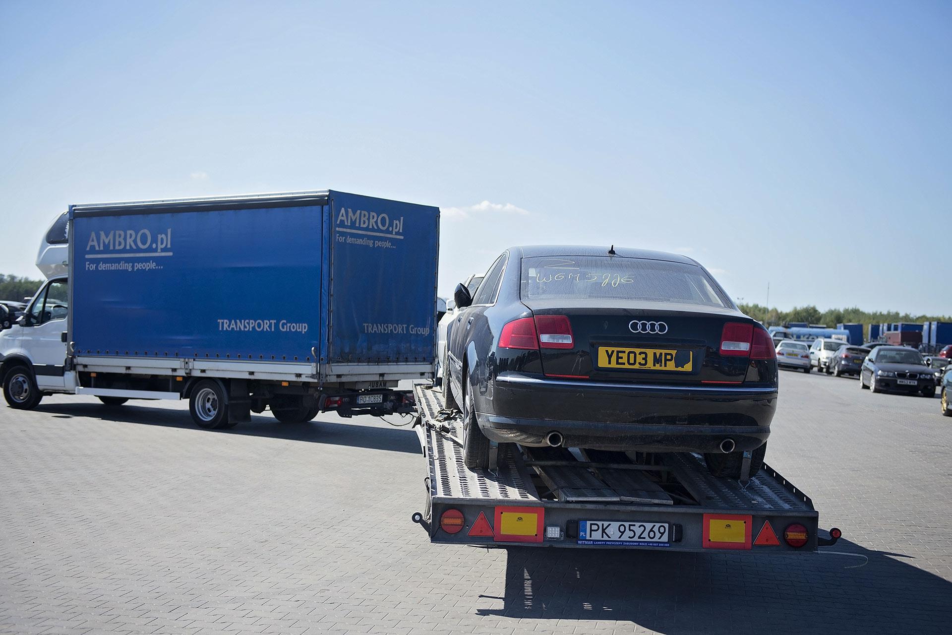 Transport aut z Holandii do Polski