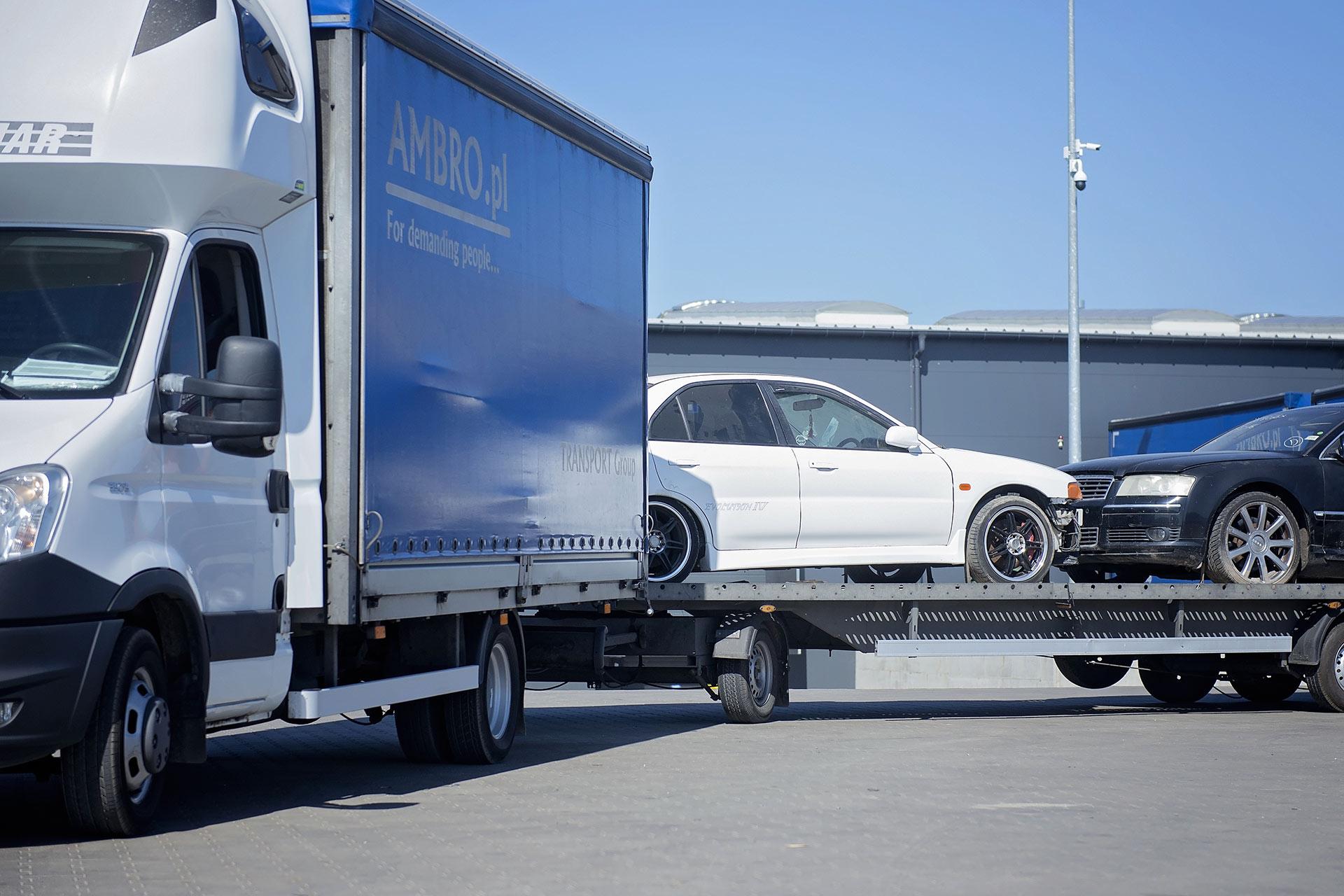 Transport aut z Belgii