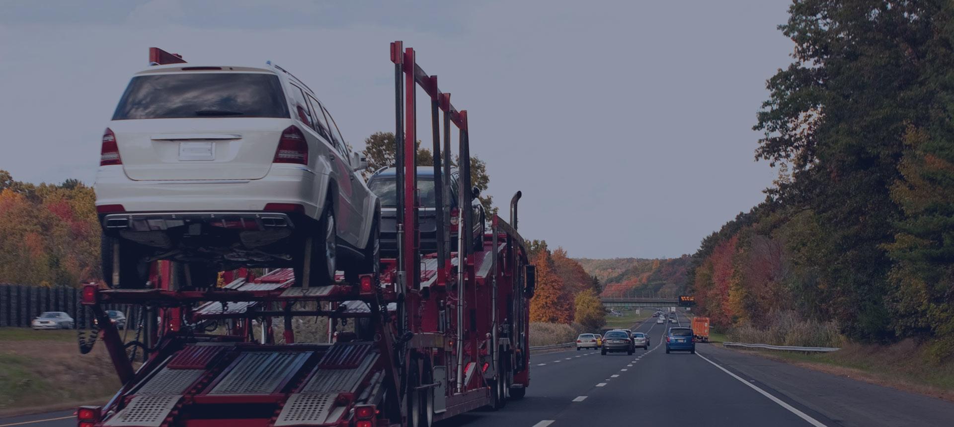 Przewóz samochodów z Irlandii do Polski